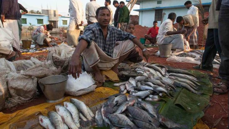 Fish market in Chittagong
