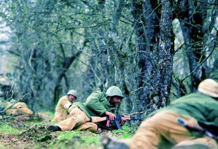 Armenian forces in Karabakh