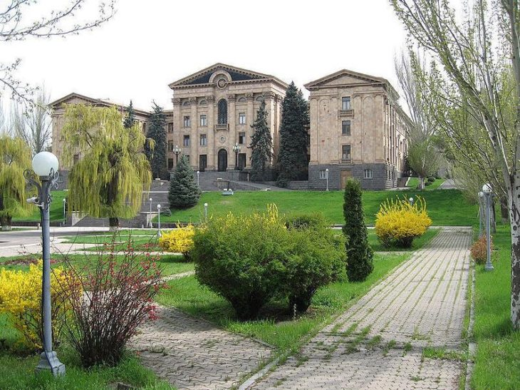 Armenian Parliament Building