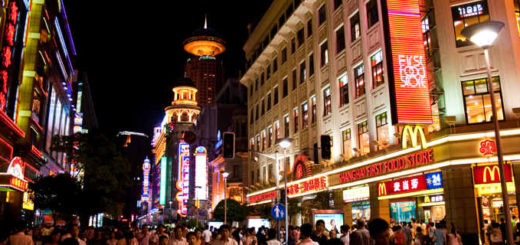 East Nanjing Road, Shanghai
