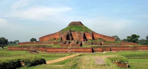 Somapura Mahavihara is an UNESCO World Heritage Site archaeological complex.