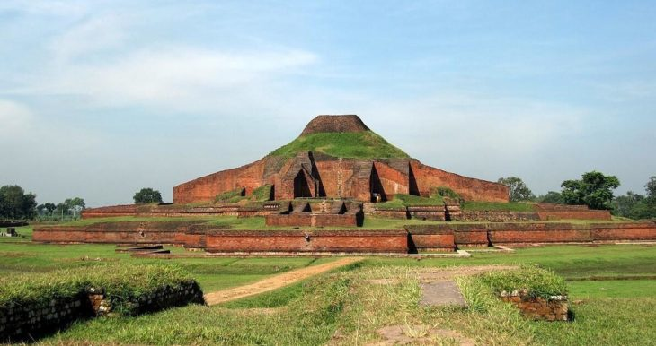 Somapura Mahavihara is an UNESCO World Heritage Site archaeological complex.