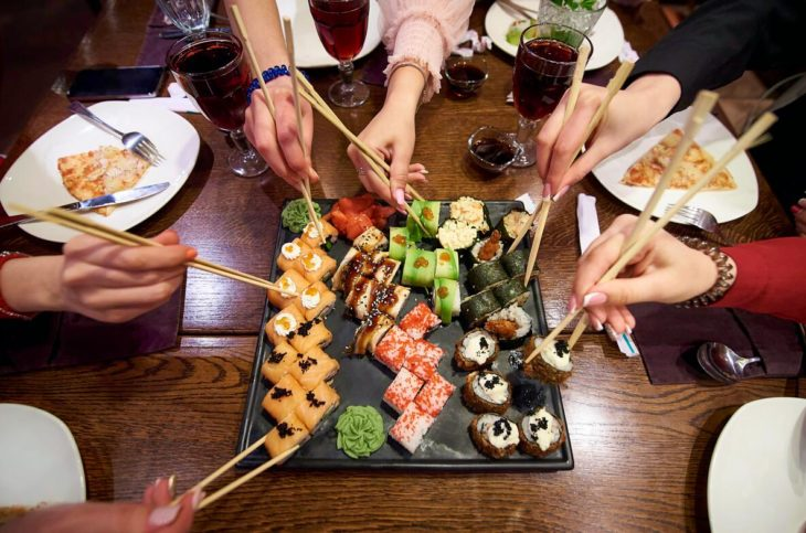 Japan is known for, among other things, food, and especially sushi