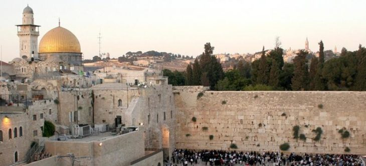 The Great Wall of Jerusalem's Old City