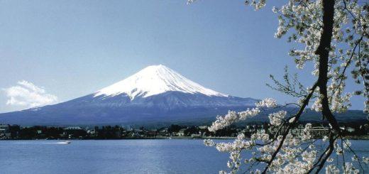 Fuji-san with its 3776 meters