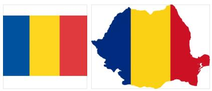 Chad Flag and Map