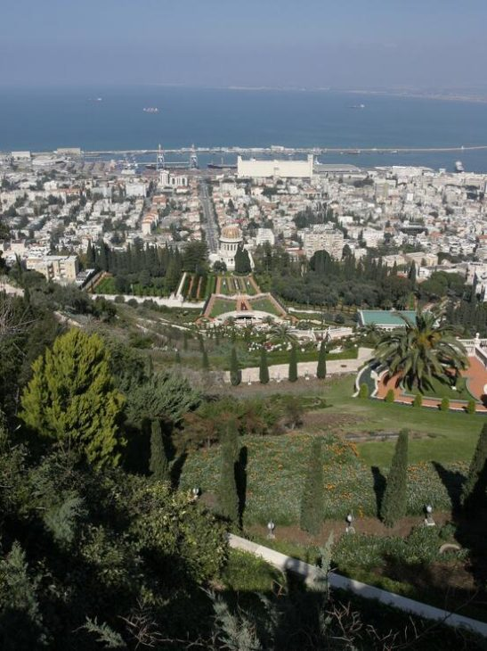 Haifa is one of Israel's most important port cities