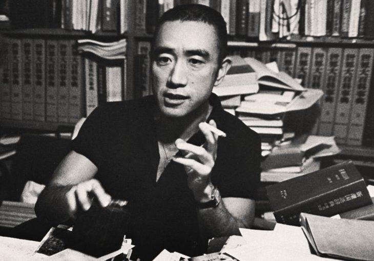 Yukio Mishima. Photo from 1970