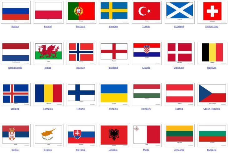 all European countries 1