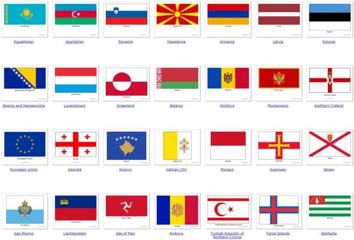 all European countries 2