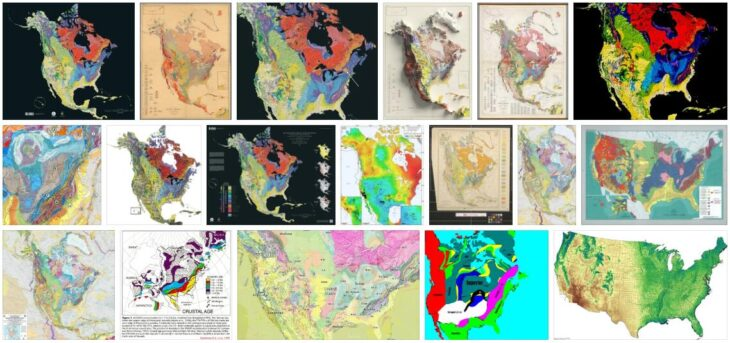 North America Geology