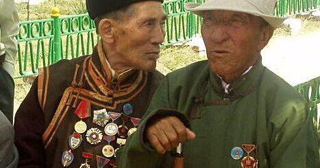 Kazakh and Mongolian mining veterans