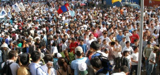 Mongolia Mass protests after the 2008 election