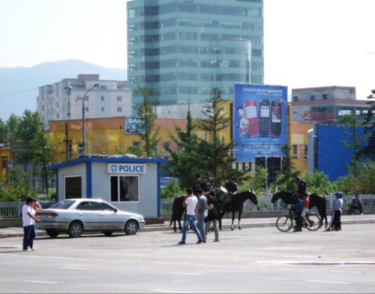 Mongolia Peaceful Election Day 2012