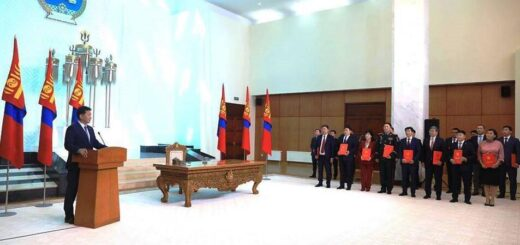 The new government of Mongolia