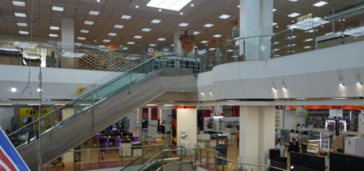 the first and largest department store in Mongolia