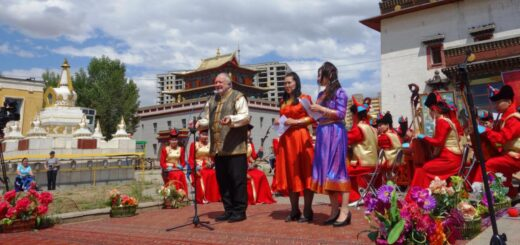 Opening of the 17th music festival Mongolia