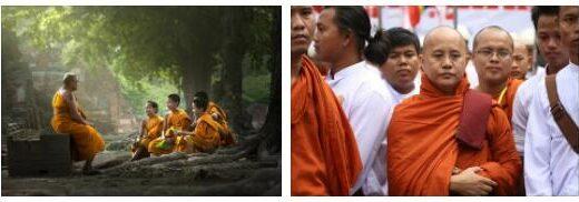 Thailand Military against monks