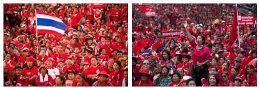 Thailand red shirts