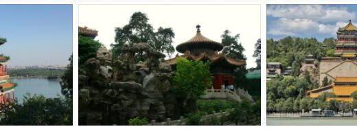 Imperial Garden Near Beijing