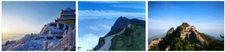 Shan Emei Mountain Landscape