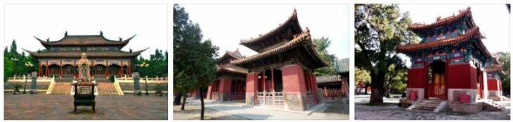 The temple in Qufu