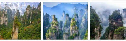 Wulingyuan Landscape Park