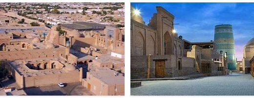 Old Town of Ichan-Kala in the Oasis City of Khiva (World Heritage)